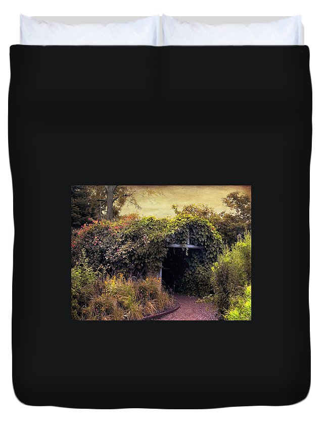 Rural Duvet Cover featuring the photograph Country Charm by Jessica Jenney