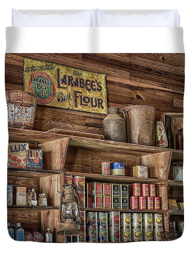 Country Store Duvet Cover featuring the photograph Country Store by Stephen Stookey