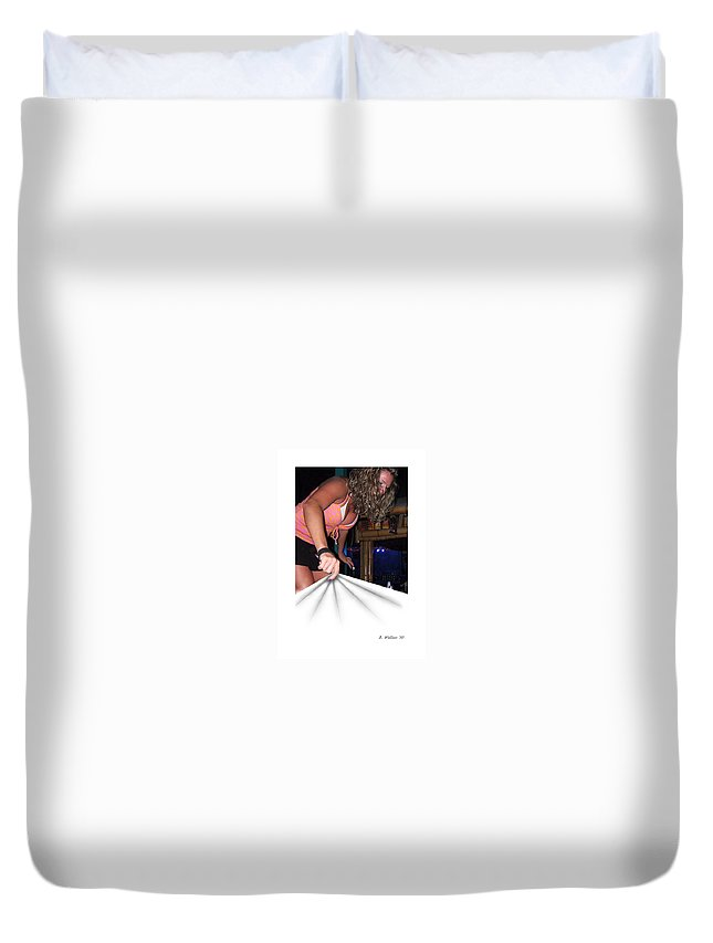 2d Duvet Cover featuring the photograph Cover Up by Brian Wallace