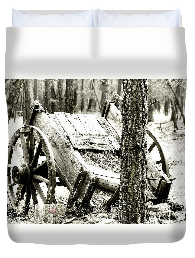 Crash Duvet Cover featuring the photograph Crash by Beauty For God