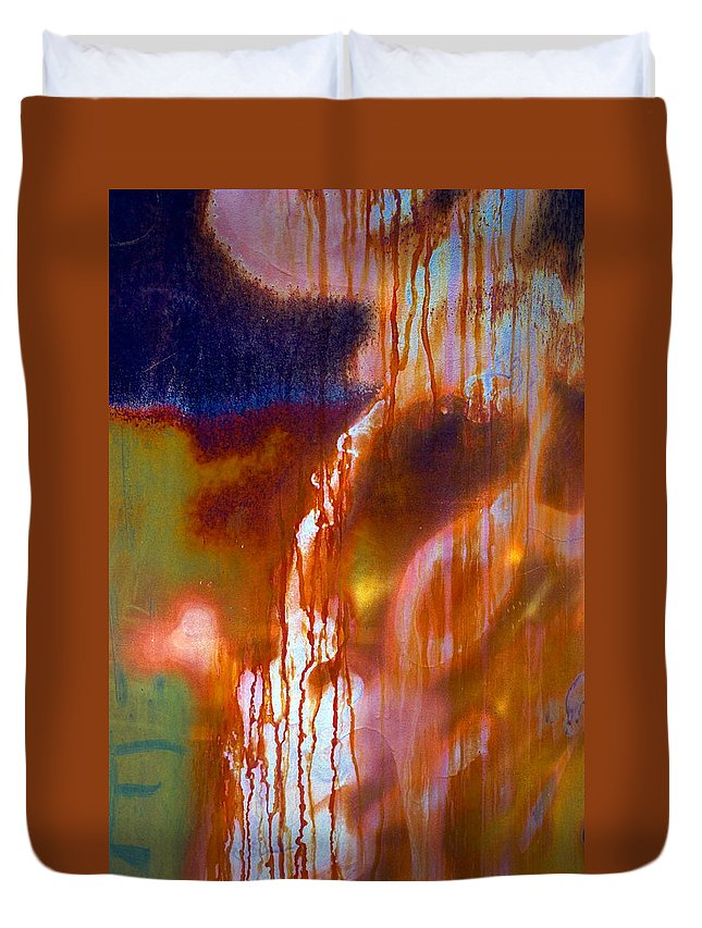 Skip Duvet Cover featuring the photograph Cry Me A River by Skip Hunt