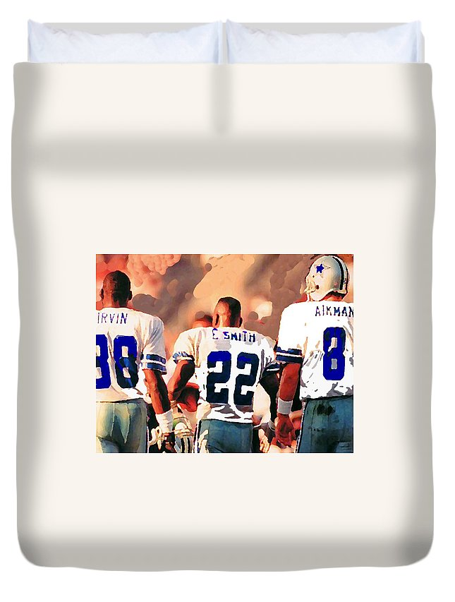 Emmit Smith Duvet Covers