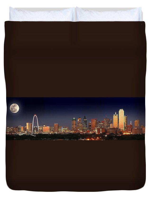 Dallas Skyline Duvet Covers