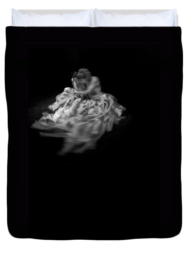 Dance Duvet Cover featuring the photograph Dance - Embrace by Scott Sawyer
