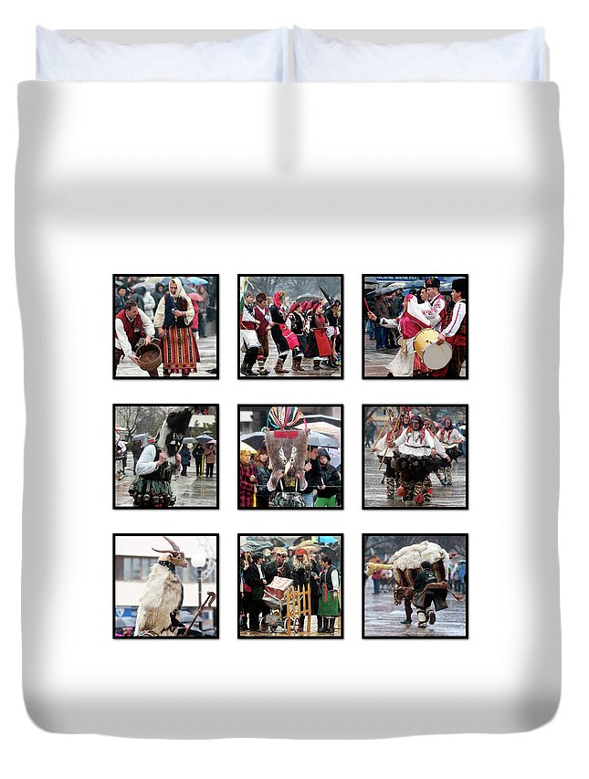 Dance Duvet Cover featuring the photograph Dance by Cliff Norton