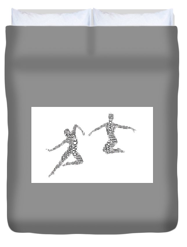 Alicegipsonphotographs Duvet Cover featuring the photograph Dance Duo by Alice Gipson