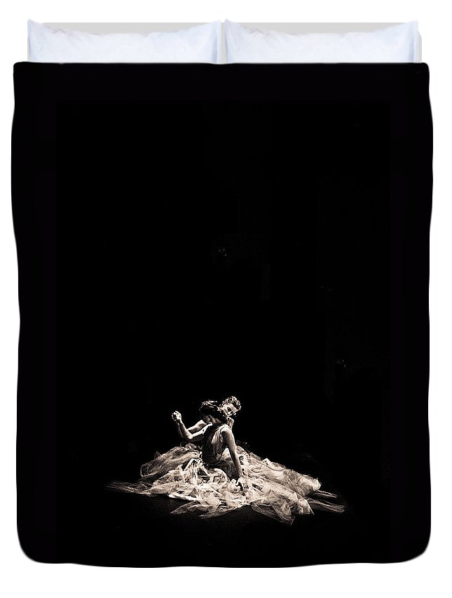 Dance Duvet Cover featuring the photograph Dance Of Motion by Scott Sawyer