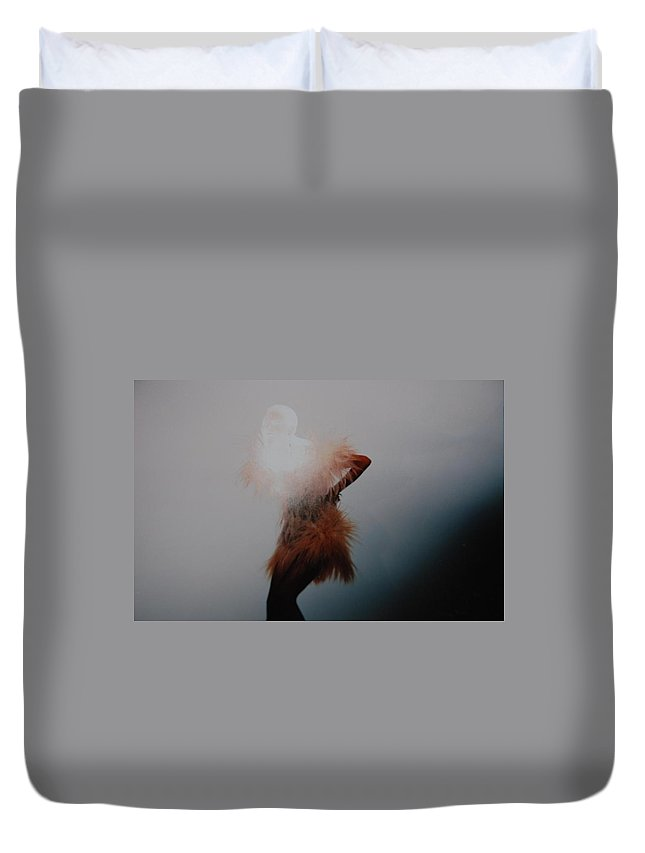 Pop Art Duvet Cover featuring the photograph Dancing Shadows by Rob Hans