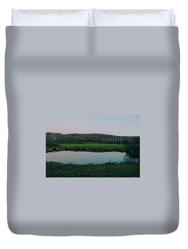 Conservation Duvet Cover featuring the photograph Daniels Conservation by Alexander Hart