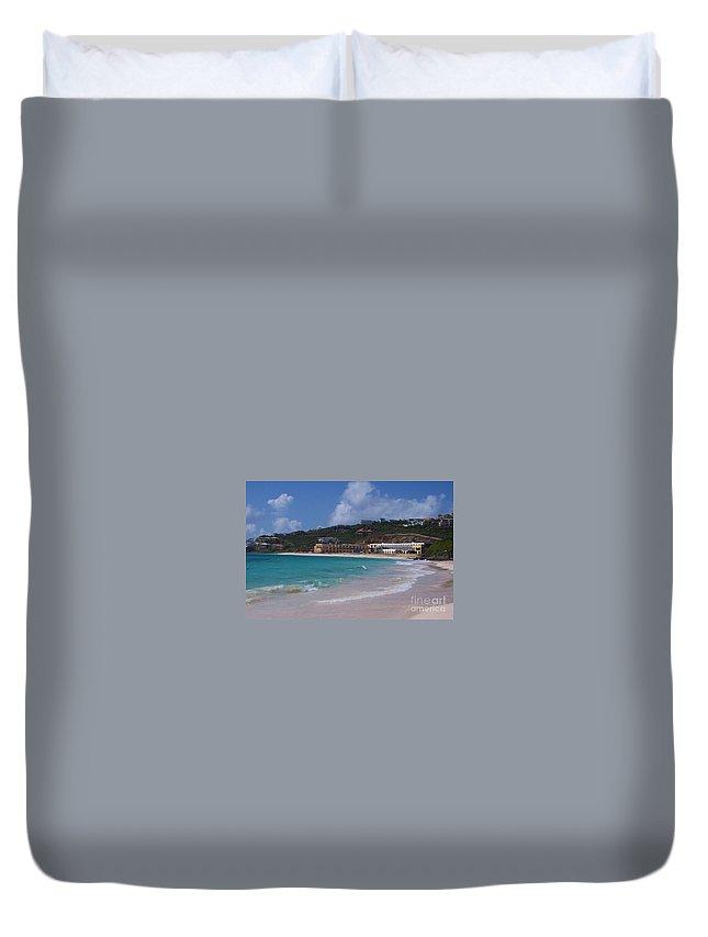 Dawn Beach Duvet Cover featuring the photograph Dawn Beach by Debbi Granruth
