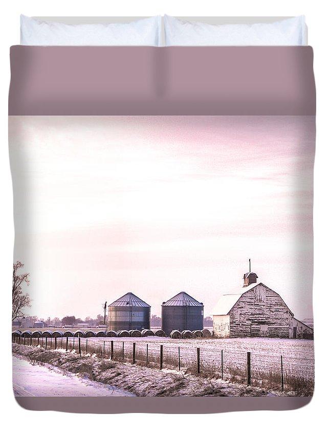Dawn Duvet Cover featuring the photograph Dawn Light by Mark Pearson