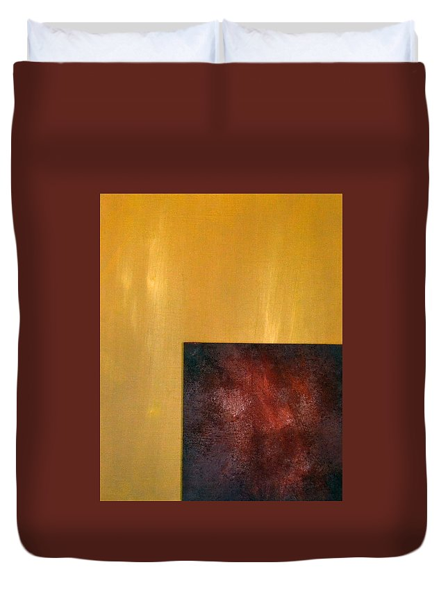 Dawn Of Eternity Duvet Cover featuring the painting Dawn Of Eternity by James Pinkerton