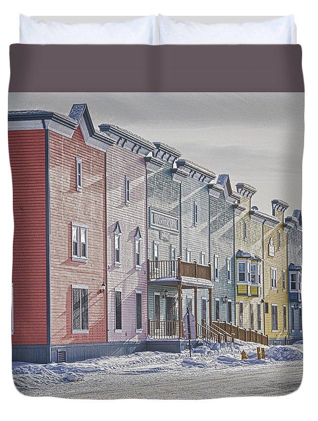 Dawson City Duvet Cover featuring the photograph Dawson City by Craig Voth