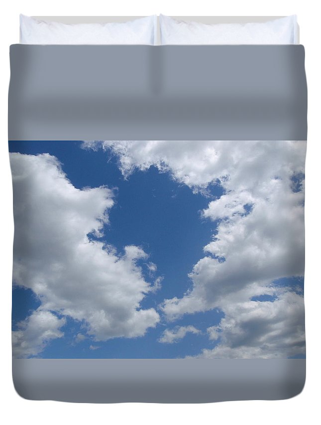 Blue Duvet Cover featuring the photograph Day Dreamer by JAMART Photography