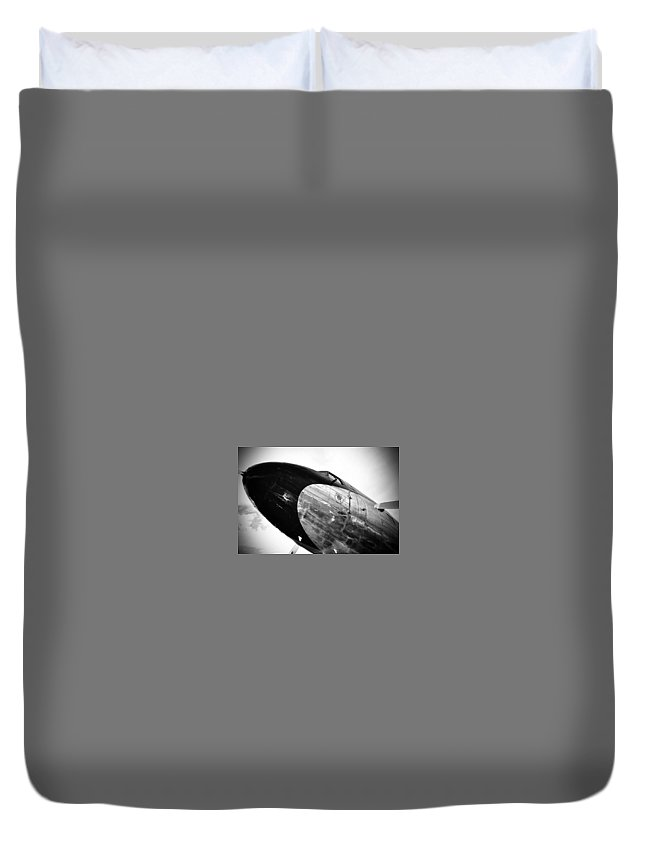 Dc-3 Duvet Cover featuring the photograph Dc-3 by Lee Gray