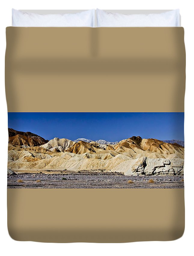 Death Valley Duvet Cover featuring the photograph Death Valley 1 by Albert Seger