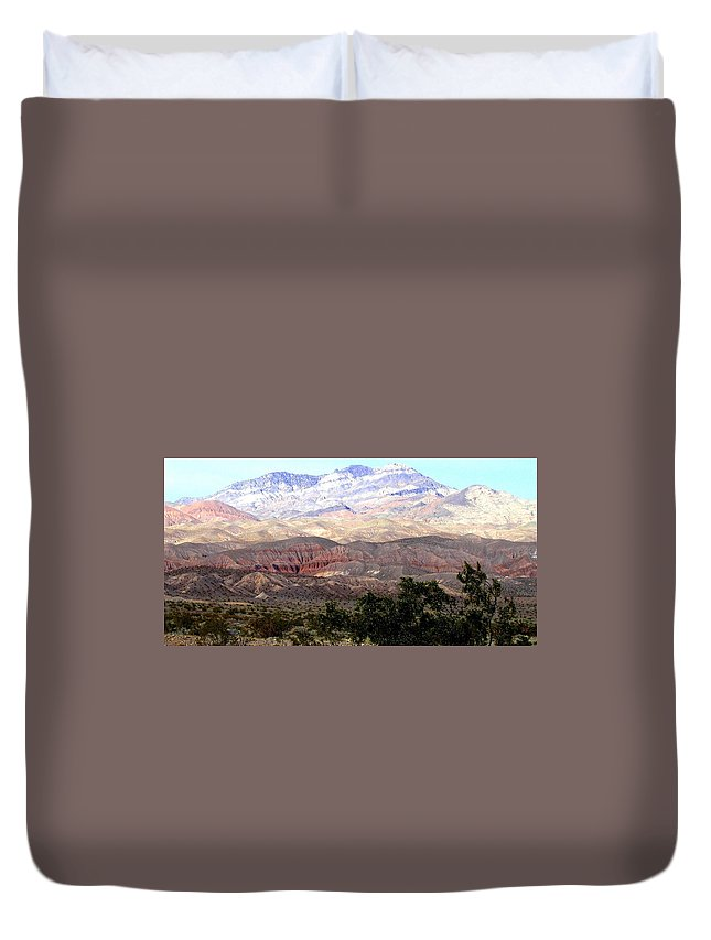 Death Valley Duvet Cover featuring the photograph Death Valley 1 by Will Borden