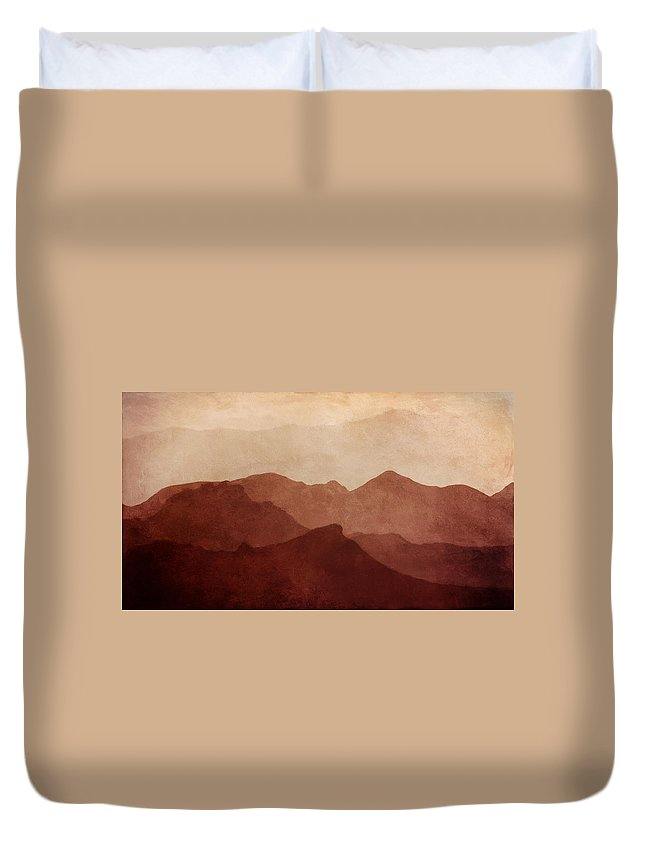 Death Valley National Park Duvet Cover featuring the photograph Death Valley by Scott Norris