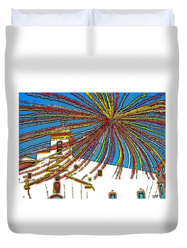 Duvet Cover featuring the photograph Decked Out For Fiesta by Dee Flouton