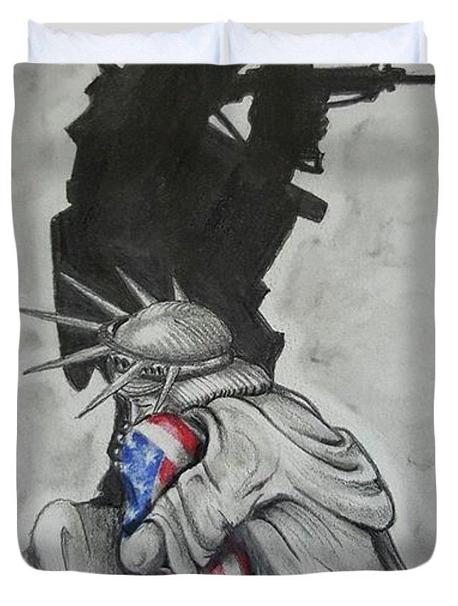 Soldier Drawings Duvet Covers