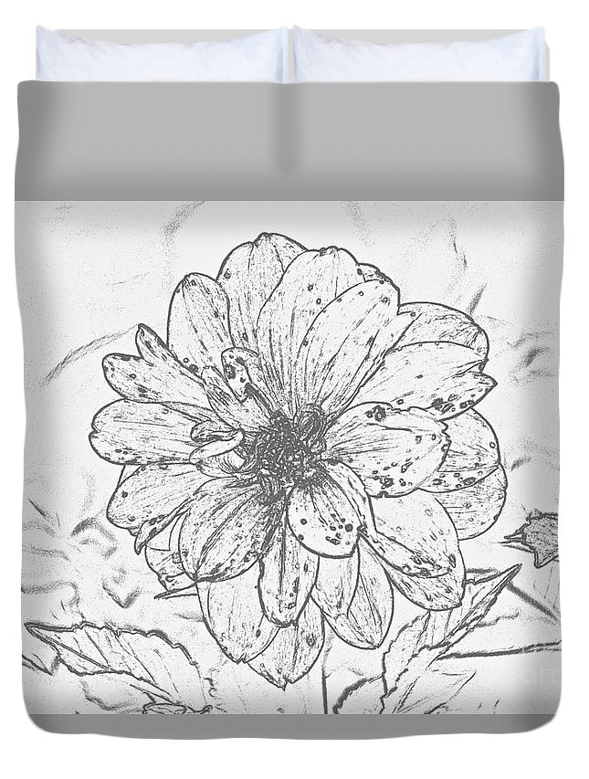 Flower Duvet Cover featuring the photograph Lush Blossom by Jeramey Lende