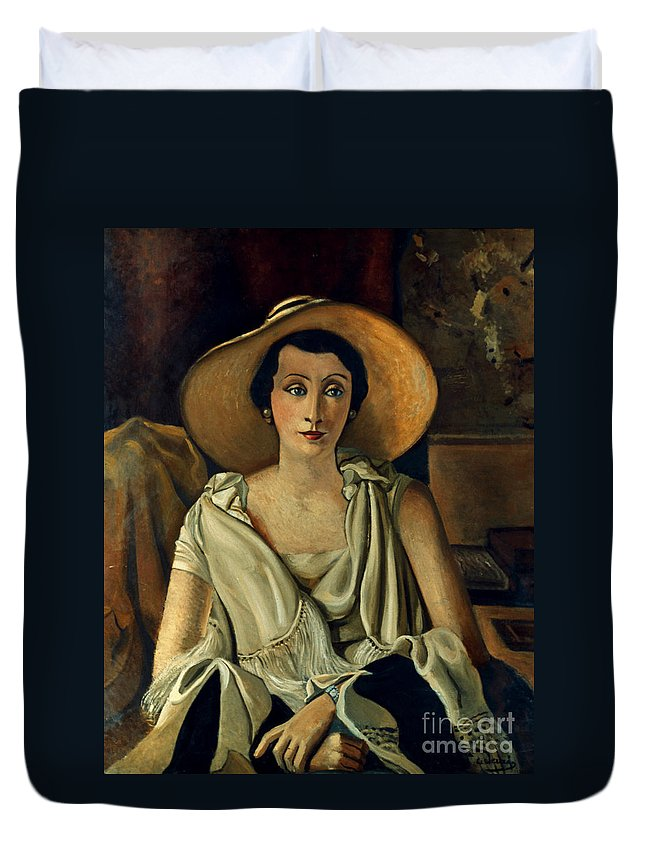 20th Century Duvet Cover featuring the photograph Derain: Guillaume, 20th C by Granger