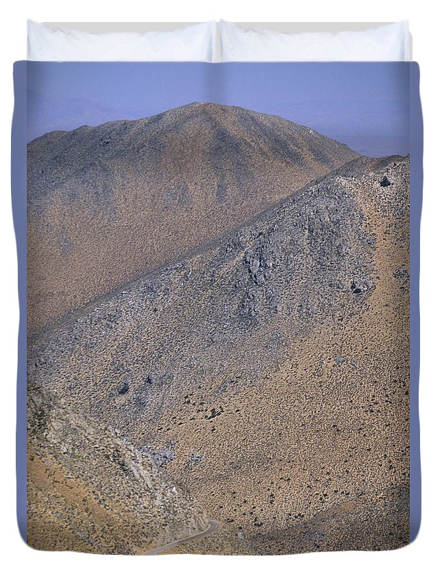 Desolate Duvet Cover featuring the photograph Desolate Highway by Soli Deo Gloria Wilderness And Wildlife Photography