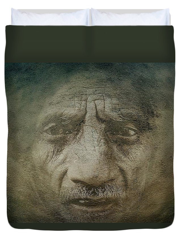 Despair Duvet Cover featuring the photograph Despair by Movie Poster Prints