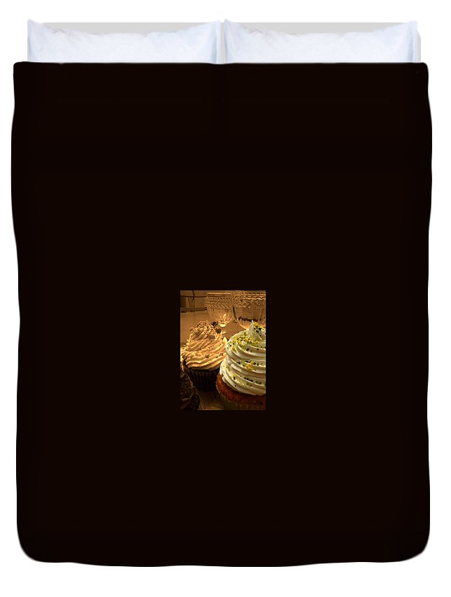 Cupcake Duvet Cover featuring the photograph Dessert by JAMART Photography