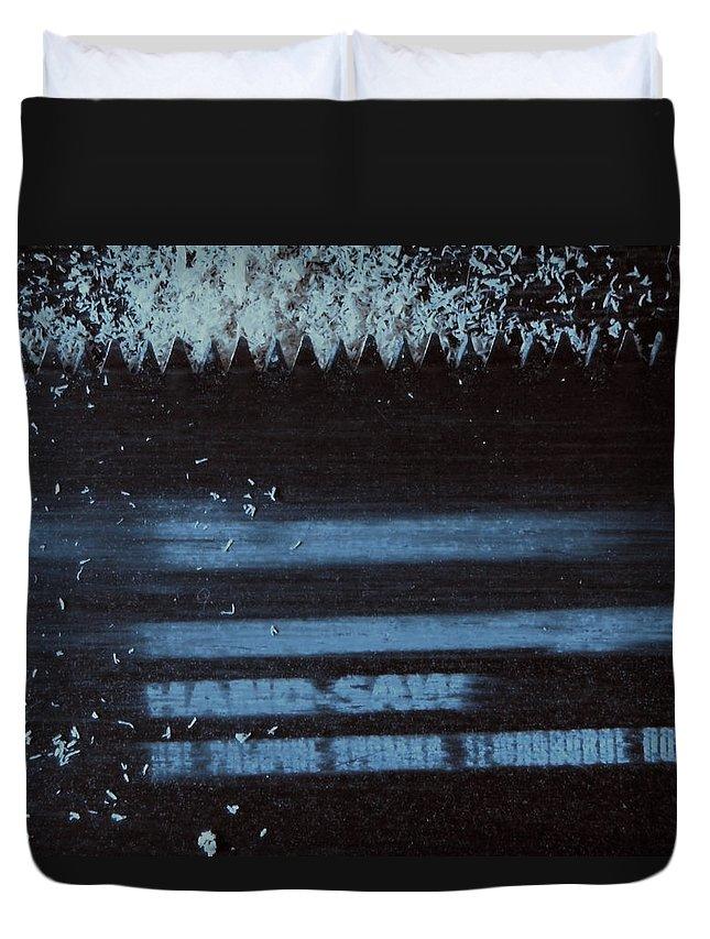 The Modern Art Duvet Cover featuring the photograph Destruction - Creation by Inna Podolska