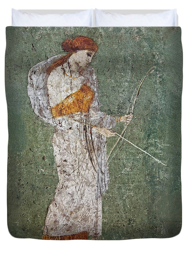 Fresco Duvet Cover featuring the photograph Diana by Joachim G Pinkawa