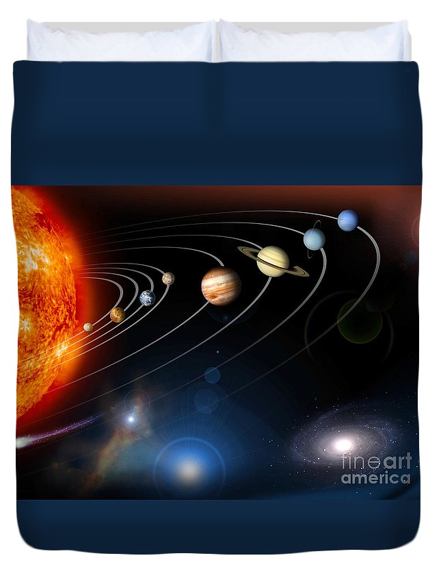 Planet Duvet Covers