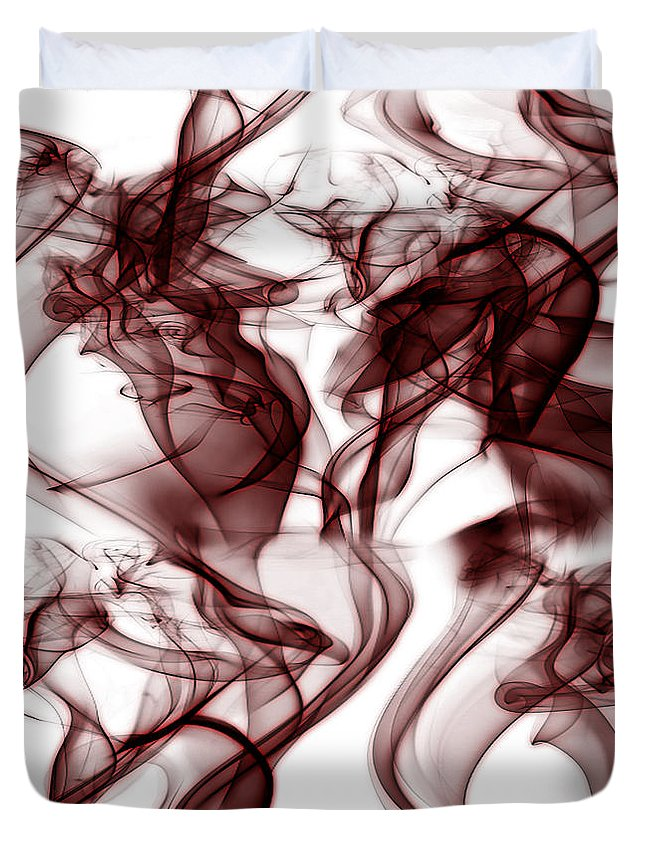Clay Duvet Cover featuring the digital art Dilusional by Clayton Bruster