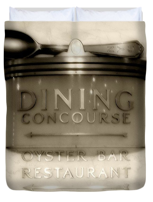 Art Deco Duvet Cover featuring the photograph Directions In Deco by RC DeWinter