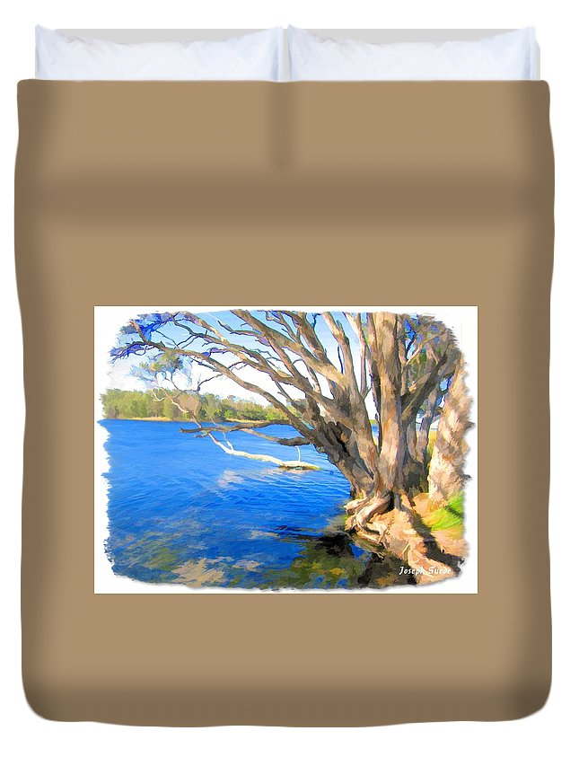 Avoca Duvet Cover featuring the photograph Do-00105 Avoca by Digital Oil