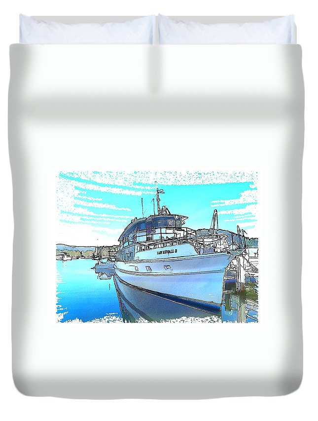 Lady Kendall Duvet Cover featuring the photograph Do-0149 Lady Kendall by Digital Oil