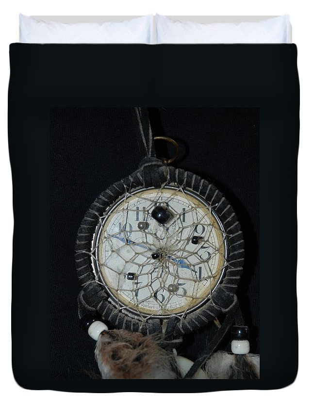 Dream Catcher Duvet Cover featuring the photograph Dream Catcher Time by Rob Hans