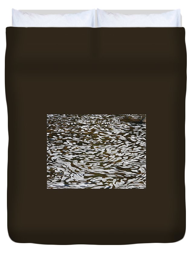 River Duvet Cover featuring the photograph Dreams by Kelly Mezzapelle