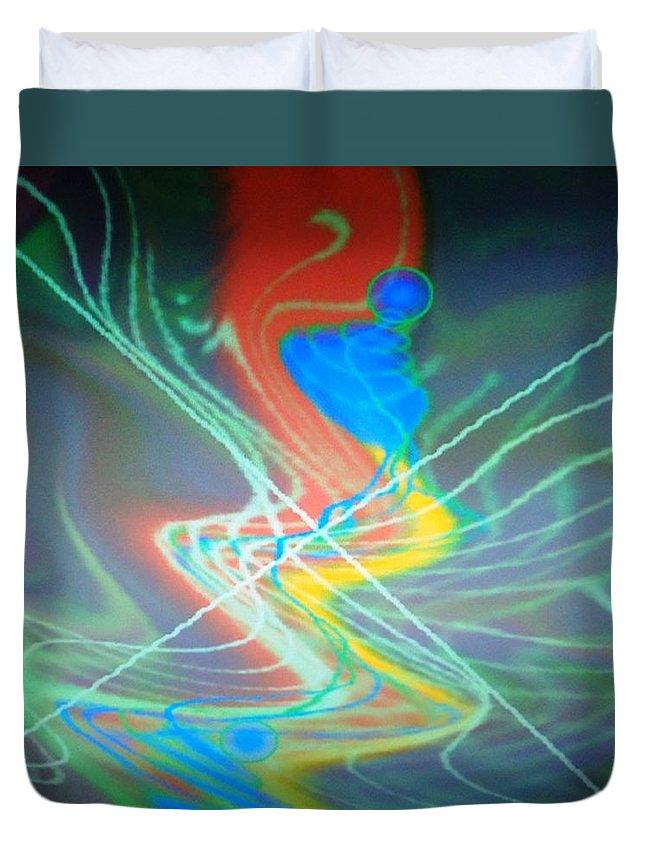 Digital Art Duvet Cover featuring the digital art Dsc01646 by Ralph Root