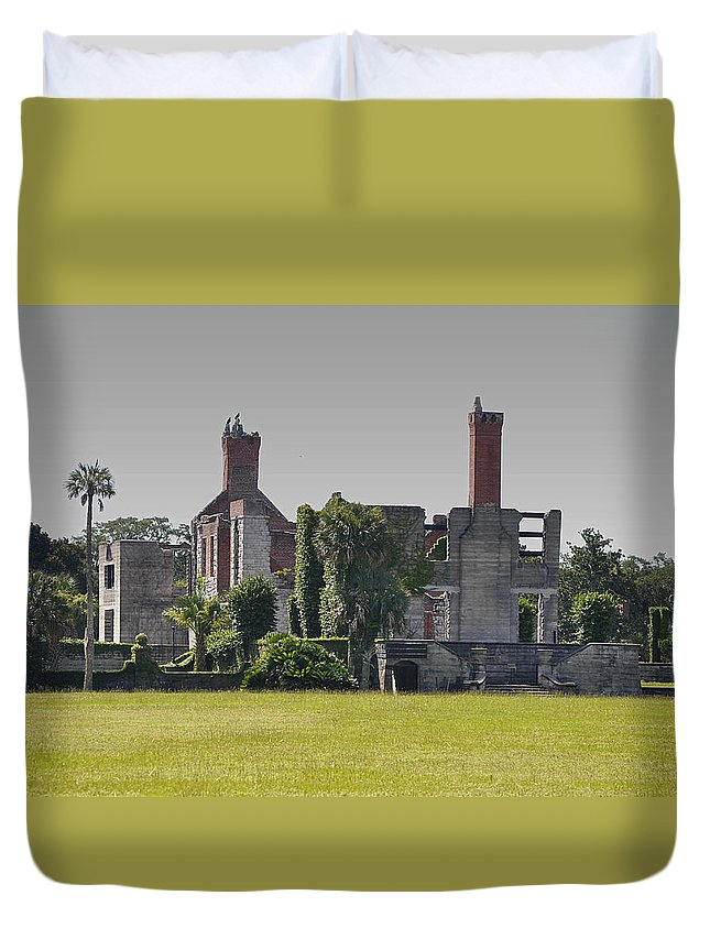 Dungeness Duvet Cover featuring the photograph Dungeness  by Debra White