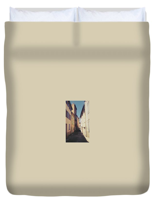 France Duvet Cover featuring the photograph Early Morning by Sean Finan