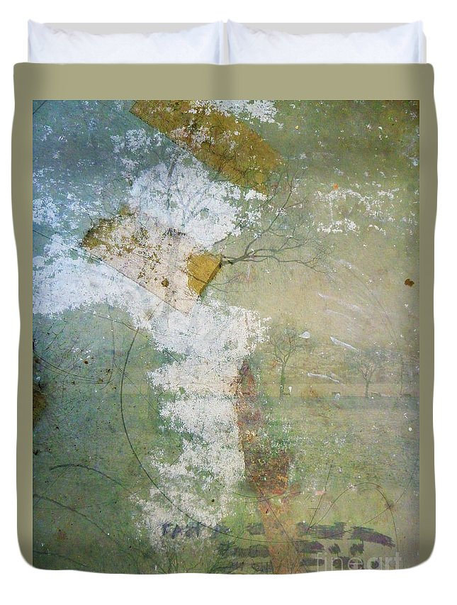 Texture Duvet Cover featuring the photograph Earthly Possessions by Tara Turner