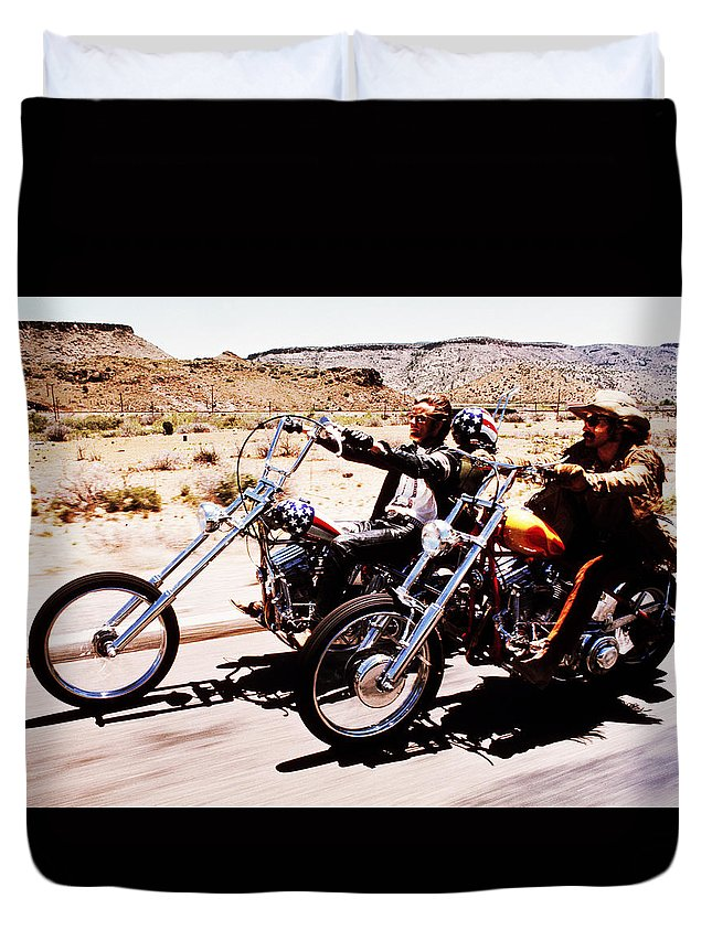 Easy Duvet Cover featuring the photograph Easy Rider Photo by Matt Haig