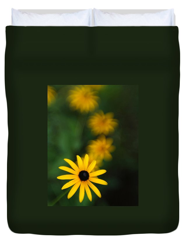 Flowers Duvet Cover featuring the photograph Echoes by Dorothy Lee