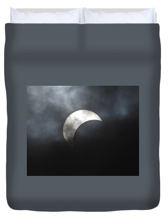 Eclipse Duvet Cover featuring the photograph Eclipse by Greg Kear