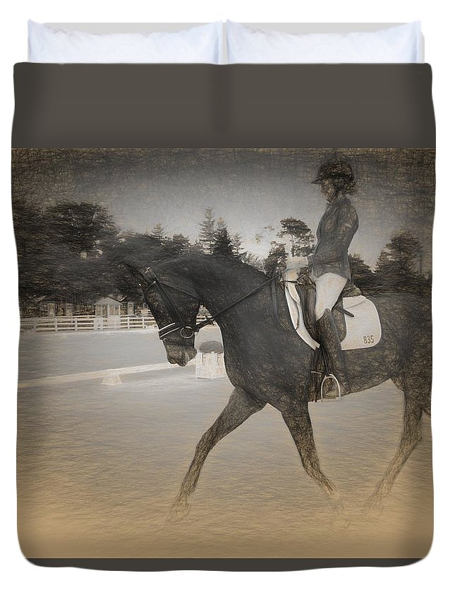 Alicegipsonphotographs Duvet Cover featuring the photograph Eightthreefive by Alice Gipson