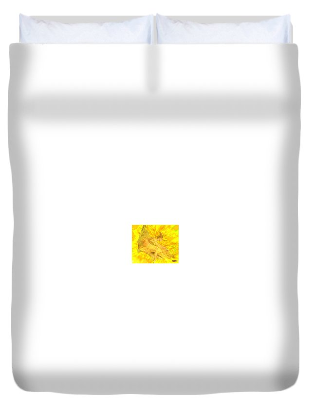 Joy Duvet Cover featuring the digital art Endless Joy by Seth Weaver