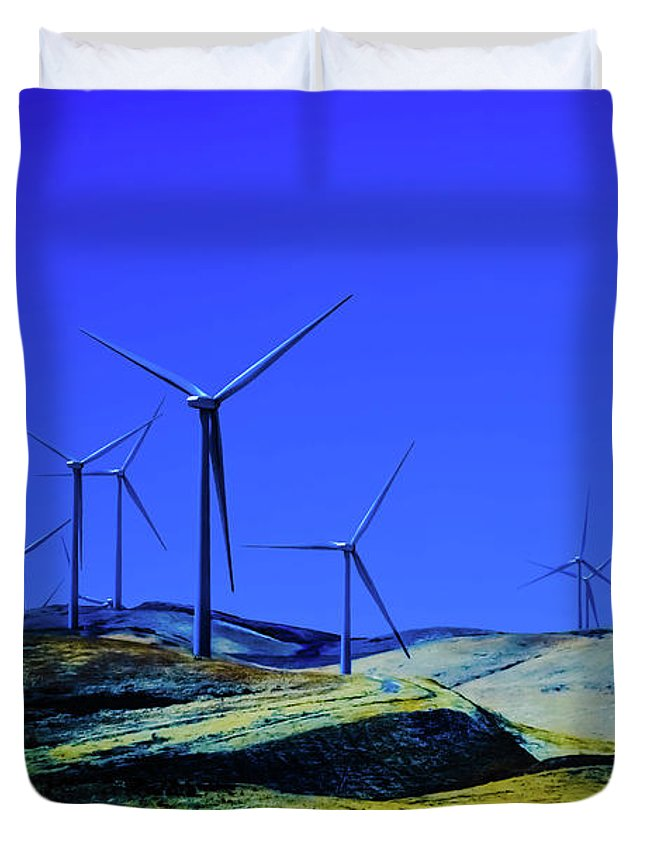 Energy Duvet Cover featuring the photograph Energy by Heather Joyce Morrill
