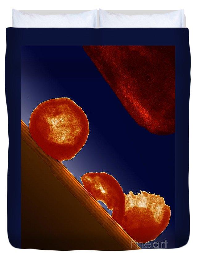 Molecular Engineering Photographs Duvet Covers