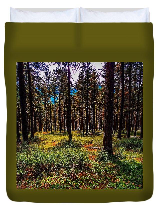 Duvet Cover featuring the photograph Epic Elixir by Dan Hassett